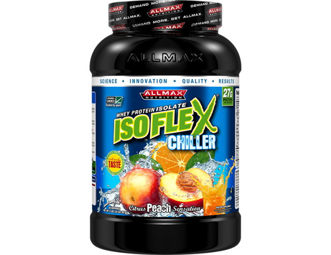 Allmax Nutrition Isoflex Chiller 2 Lbs and Free Shirt