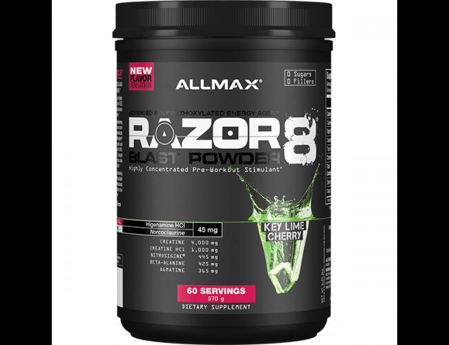 Allmax Nutrition Razor 8 Blast Powder 60 Serves