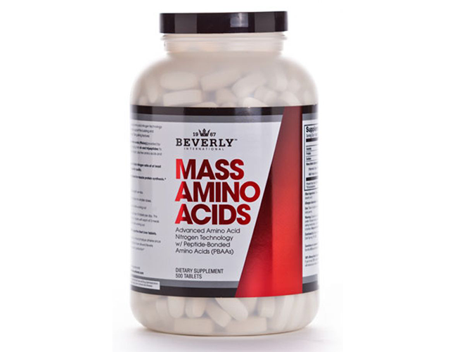 Beverly International Mass Aminos 500 Tabs