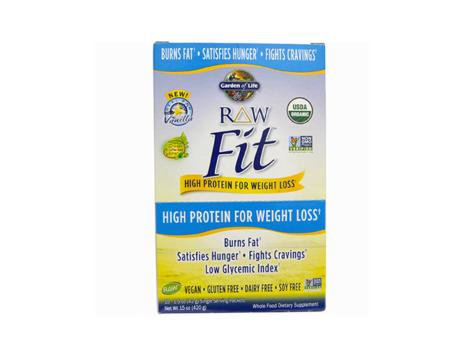 Garden of Life Raw Fit Packets 10/Box