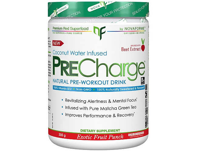 NovaForme PRECharge Exotic Fruit Punch 30 Servings