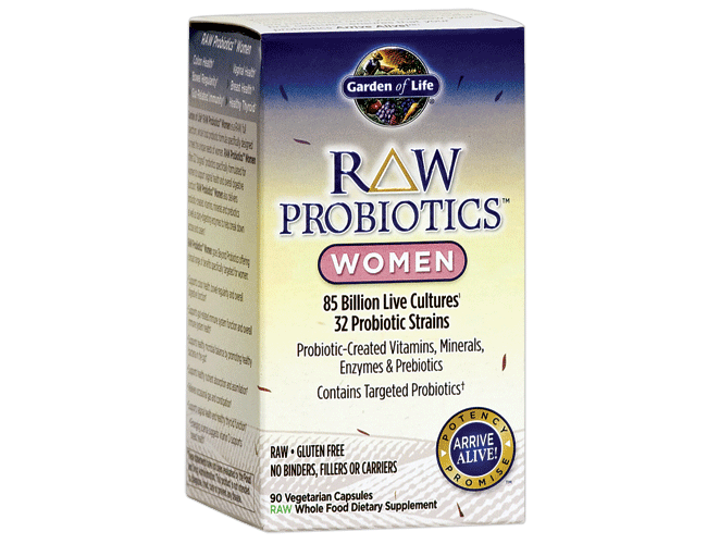 Garden of life raw probiotics women 90 vege caps for Garden of life raw cleanse reviews