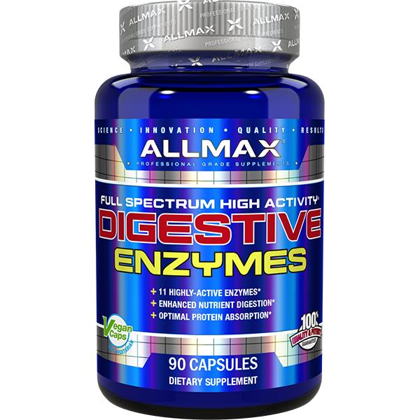 Allmax Nutrition Digestive Enzymes | 90ct Bottle