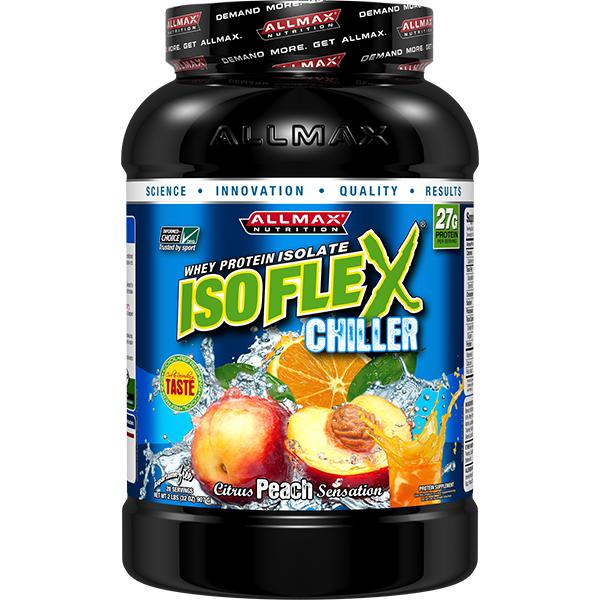 Isoflex Chiller Protein by Allmax Nutrition | Peach or