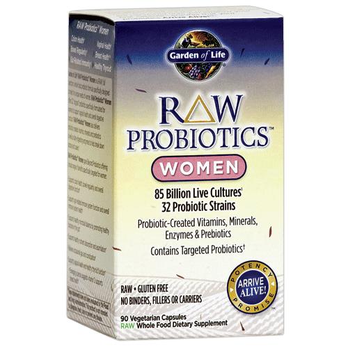 Garden Of Life Raw Probiotics Women 90 Vege Caps