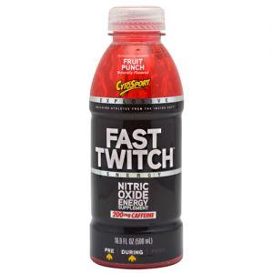Fast Twitch RTD 12 Bottles   CytoSport 16.9 oz