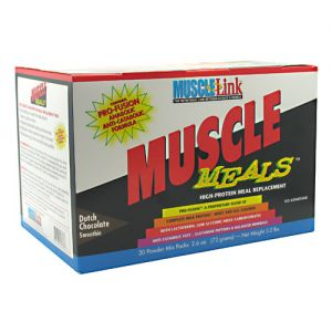 Muscle-Link Muscle Meals High-Protein Meal Replacement