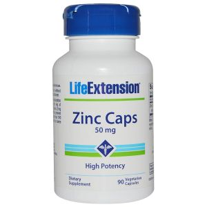 Life Extension Zinc 50 mg 90 Vegecaps