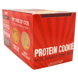 Buff Bake White Chocolate Peanut Butter Cookie 12/Box