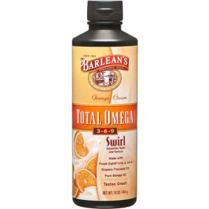 Barlean's Omega Swirl Total Omega 369 Orange Cream 16 Fl Oz