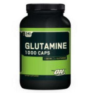 Optimum Nutrition Glutamine Caps 1000 240 Caps