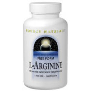 Source Naturals L-Arginine 500mg 100 Caps