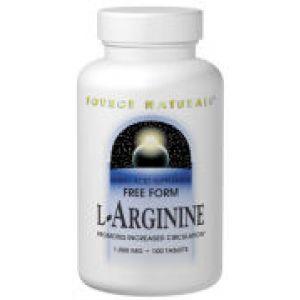 Source Naturals L-Arginine 1000mg 100 Tabs