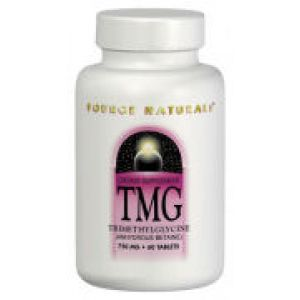 Source Naturals TMG (Trimethylglycine) 750mg 60 Tablets