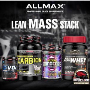 Allmax Nutrition Lean Mass Stack