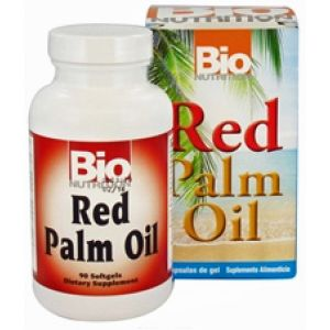 Bio Nutrition Red Palm Oil 90 Softgels