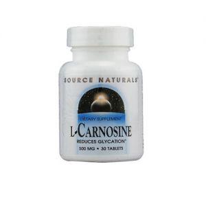Source Naturals L-Carnosine 500mg 30 Tabs