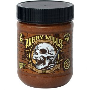 Angry Mills Caffeine Free Protein Infused Almond Spread Chocolate Chaos