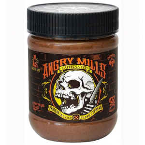 Angry Mills Caffeinated Protein Infused Peanut Butter Spread Chocolate Craze
