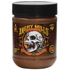 Angry Mills Caffeine Free Protein Infused Peanut Butter Spread Chocolate Chaos