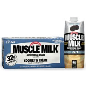 CytoSport Muscle Milk RTD 17 oz 12/Case