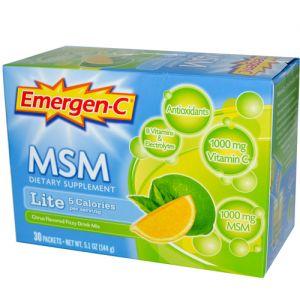 Alacer Emergen-C Lite w/ MSM 30 Pack