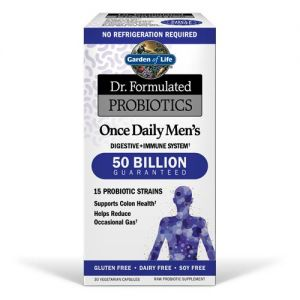 Garden of Life Dr. Formulated Probiotics Once Daily Men's 30 Vege Caps