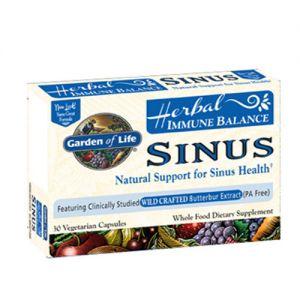 Garden of Life Immune Balance Sinus 60 Vege Caps