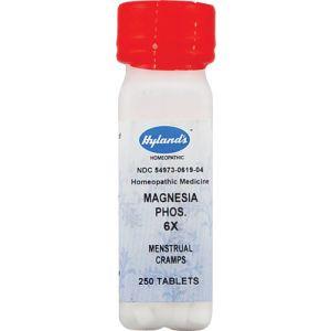 Hylands Magnesia Phosphorica 6X 250 Tabs