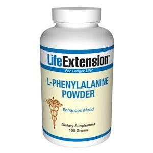 Life Extension L-Phenylalanine 100 grams