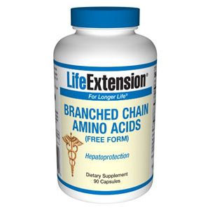 Life Extension Branched Chain Amino Acids 90 Caps