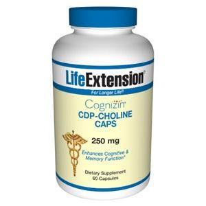 Life Extension CDP-Choline CAPS 250mg 60 Caps