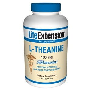 Life Extension L-Theanine 100 mg 60 Caps