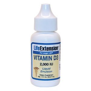 Life Extension Liquid Emulsified Vitamin D3 1 fl oz
