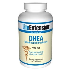Life Extension DHEA (dehydroepiandrosterone) 100 mg 60 Vege Caps