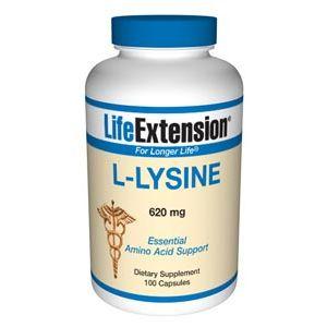 Life Extension L-Lysine 620 mg 100 Caps
