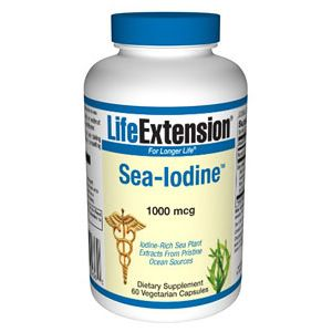 Life Extension Sea-Iodine 1000mcg 60 Vege Caps