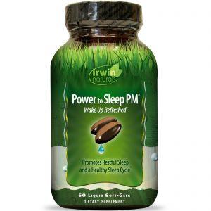 Irwin Naturals Power to Sleep PM 6mg Melatonin 60 Gels