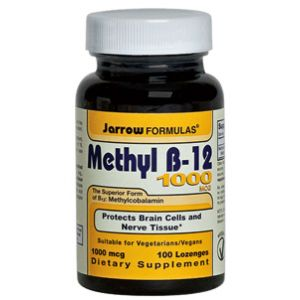 Jarrow Formulas Methyl B-12 1000mcg Vitamin B-12