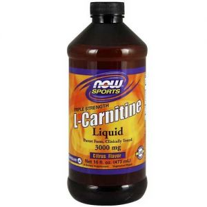 Now Foods Carnitine Liquid 3000 Mg 16 Oz