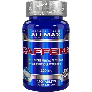 Allmax Nutrition Caffeine 200mg 100 Tabs