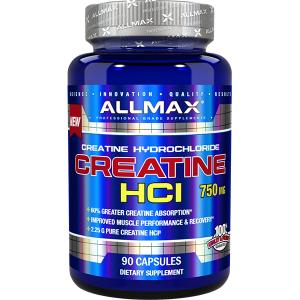 Allmax Nutrition Creatine HCL 750mg 90 Caps