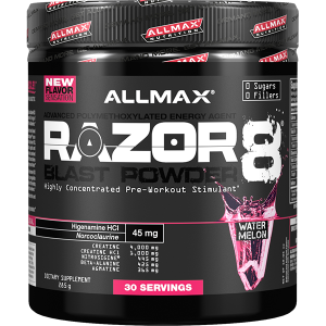 Allmax Nutrition Razor 8 Blast Powder 30 Serves