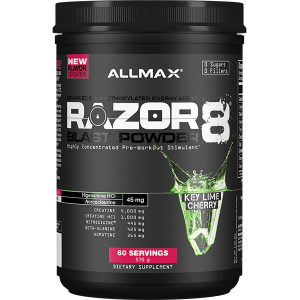Allmax Nutrition Razor 8 Blast Powder 60 Serves