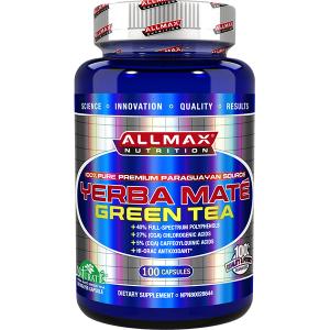 Allmax Nutrition Yerba Mate Green Tea 500mg 100 Caps
