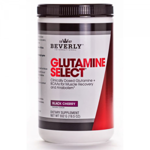 Beverly International Glutamine Select plus BCAAs Black Cherry 552g