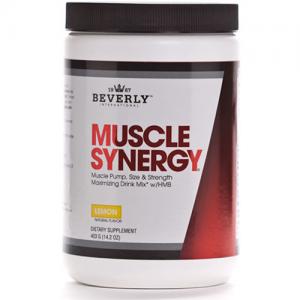 Beverly International Muscle Synergy Powder Lemon 403 Grams