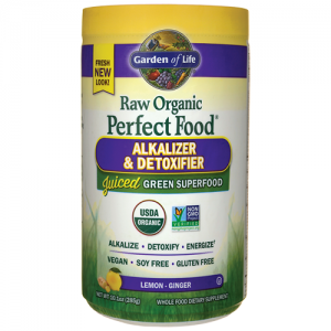 Garden of Life Perfect Food Raw (Organic) Alkalizer & Detoxifier 285 Grams