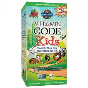 Garden of Life Vitamin Code Kids 60 Chews