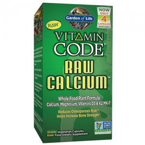 Garden of Life Vitamin Code Raw Calcium 120 Caps